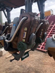 Vekoma Suspended Thrill Coaster Theming