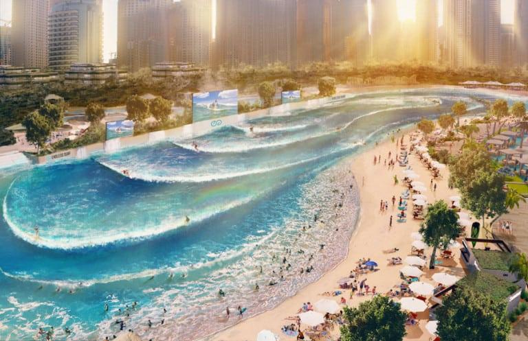 WhiteWater endless surf la vague grand paris