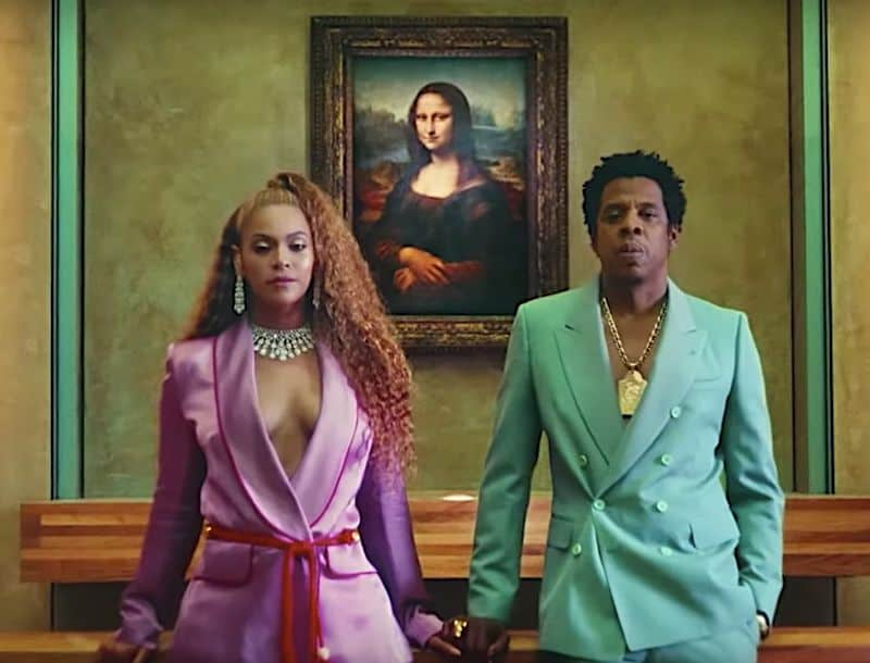 Beyonce & Jay-Z recording Apesh*t at the Louvre