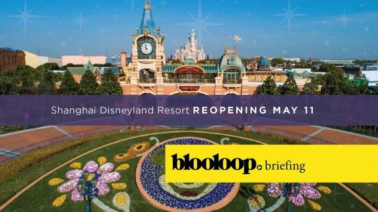 blooloop breifing attractions news shanghai disneyland reopening