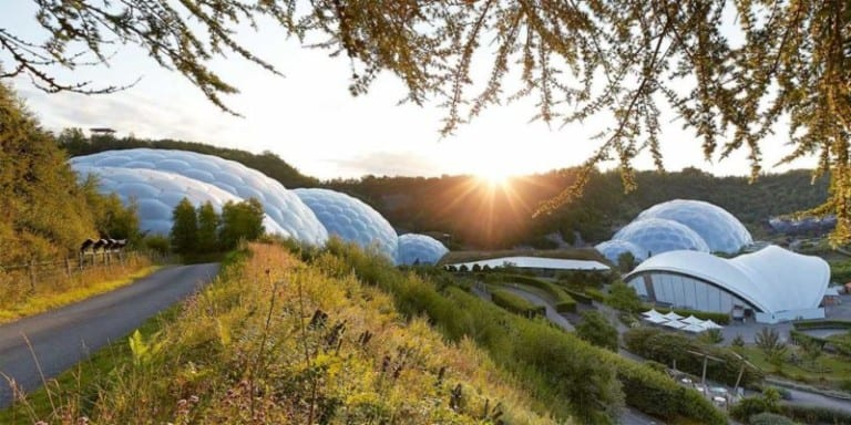 eden project biomes sustainable attractions