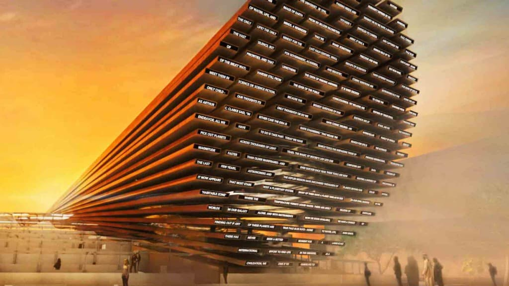 UK's pavilion at the postponed Expo 2020 Dubai 2021