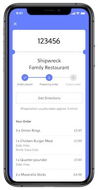 food-order-mobile app attractions.io