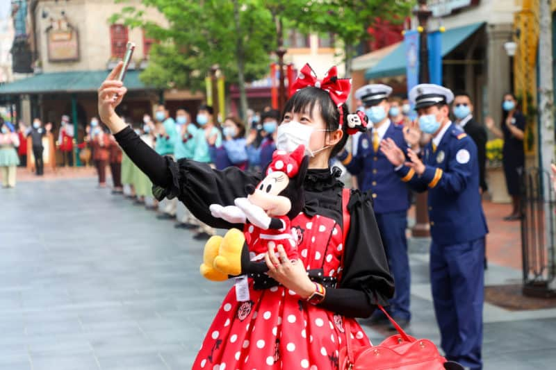 shanghai disneyland reopening social proof