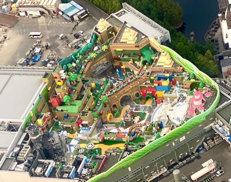 Super Nintendo World Looks Complete In New Aerial Image Blooloop
