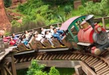 No screaming on coasters at reopening Japanese theme parks