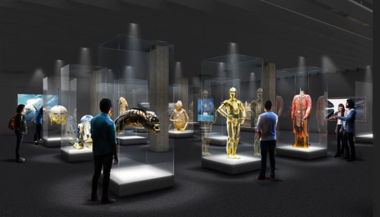 Exhibition design at the Academy Museum