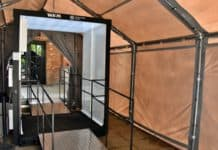 Auschwitz-Birkenau Museum installs innovative sanitation gate amid COVID-19