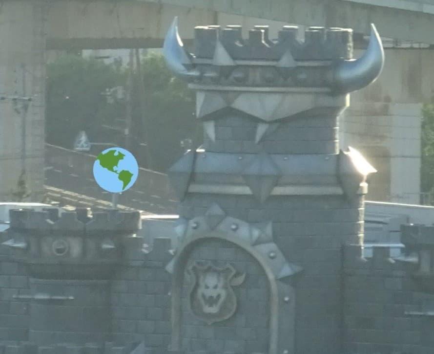Bowsers Castle at Super Nintendo World