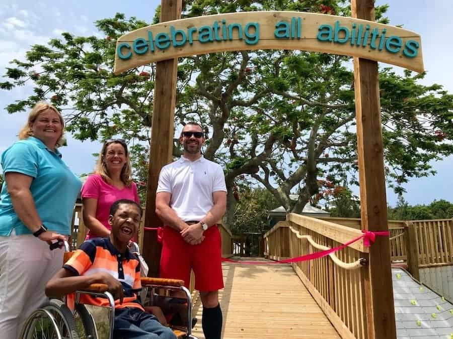 Boundless playground accessible Bermuda CAP.Co