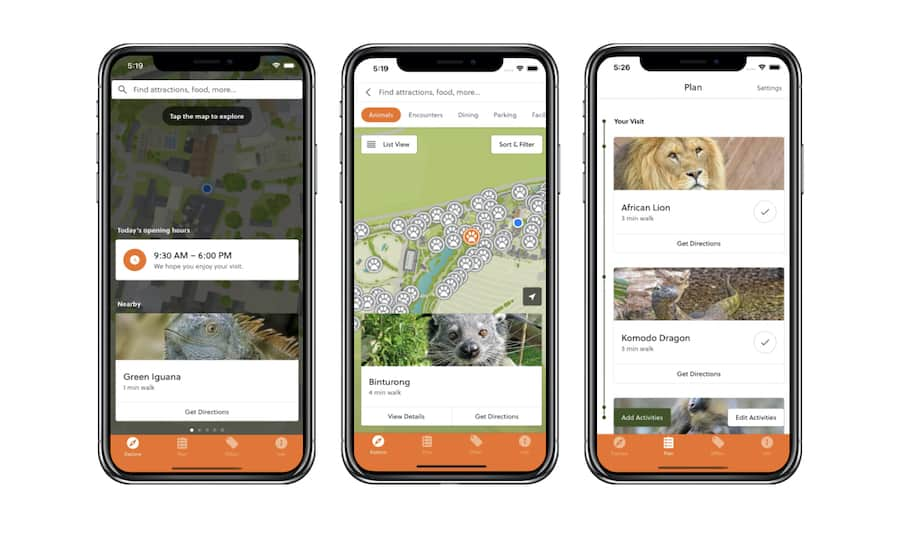 Colchester Zoo App Attractions.io Guest expectations COVID 19