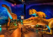 Dinosaurs Around the World exhibition