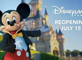 Disneyland Paris reopening date