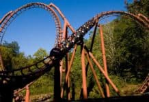 Dollywood Tennesee-Tornado