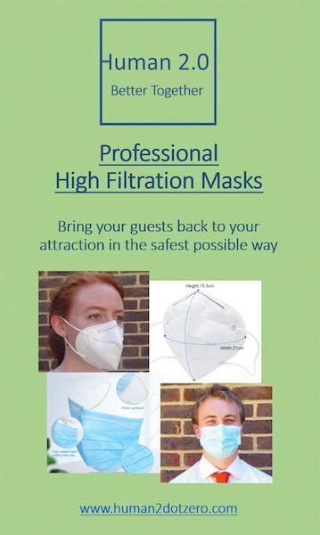 Human 2.0 Masks