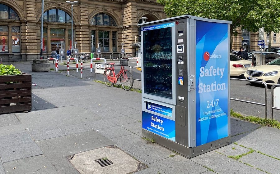 Selecta-Safety-Station covid 19 innovations