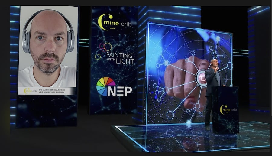 Virtual Event Studio_Painting With Light