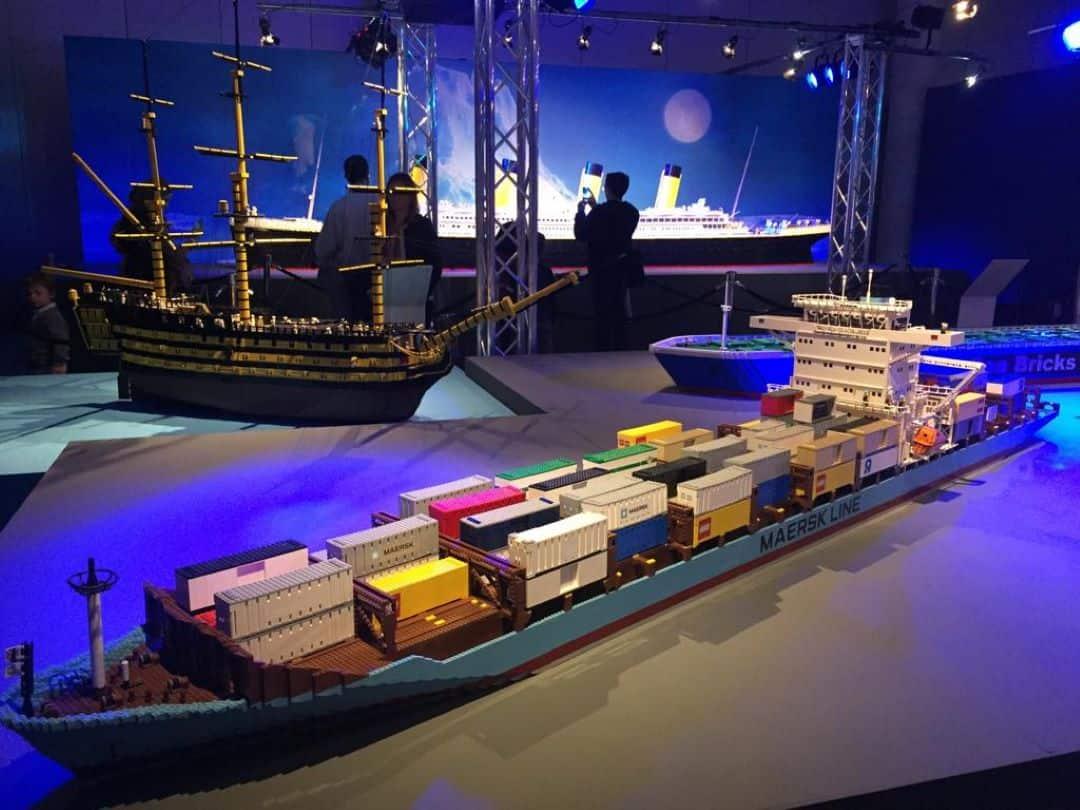Travelling Bricks exhibition World Touring Exhibitions museum edutainment