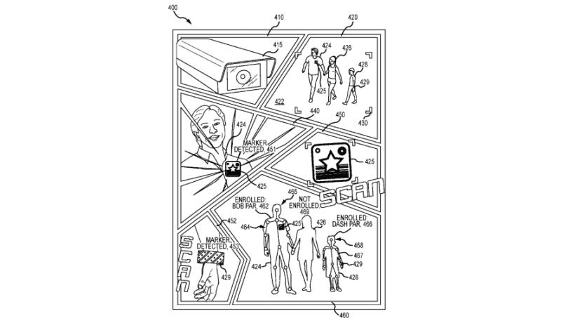 disney camera patent