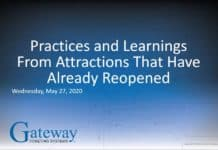 reopening attractions Gateway webinar