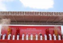 VinWonders Vu Yen ground breaking - Vietnam's largest theme park