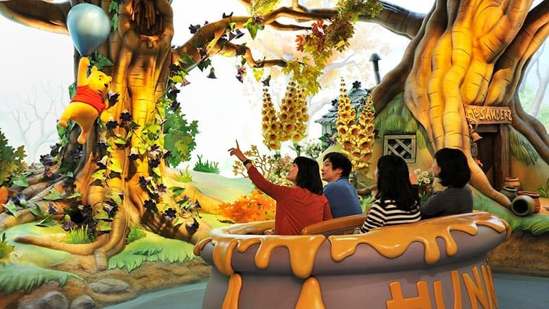 winnie the Pooh trackless ride disney