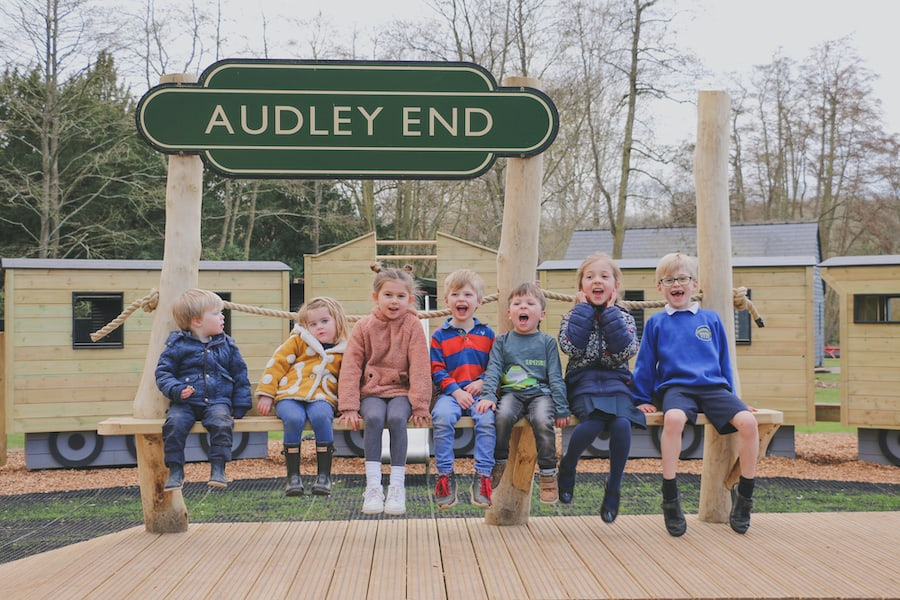 Audley End Miniature Railway reopening outdoor play