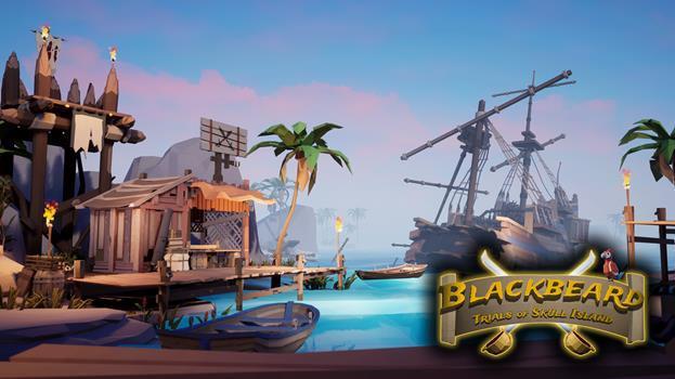 Blackbeard Virtuix Omni Arena