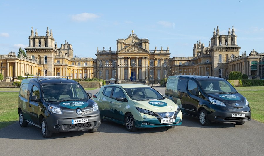 Electric cars Blenheim Palace