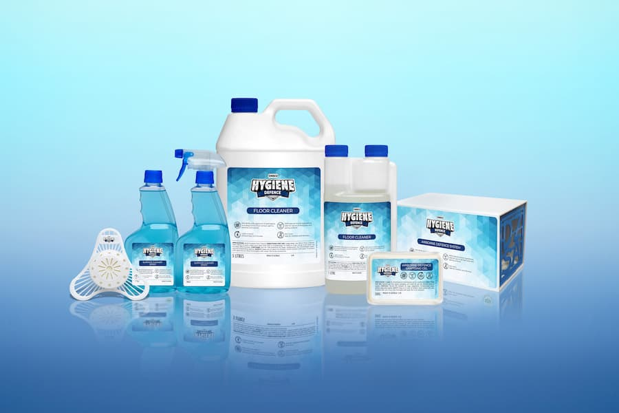 Embed Hygiene Defence product line