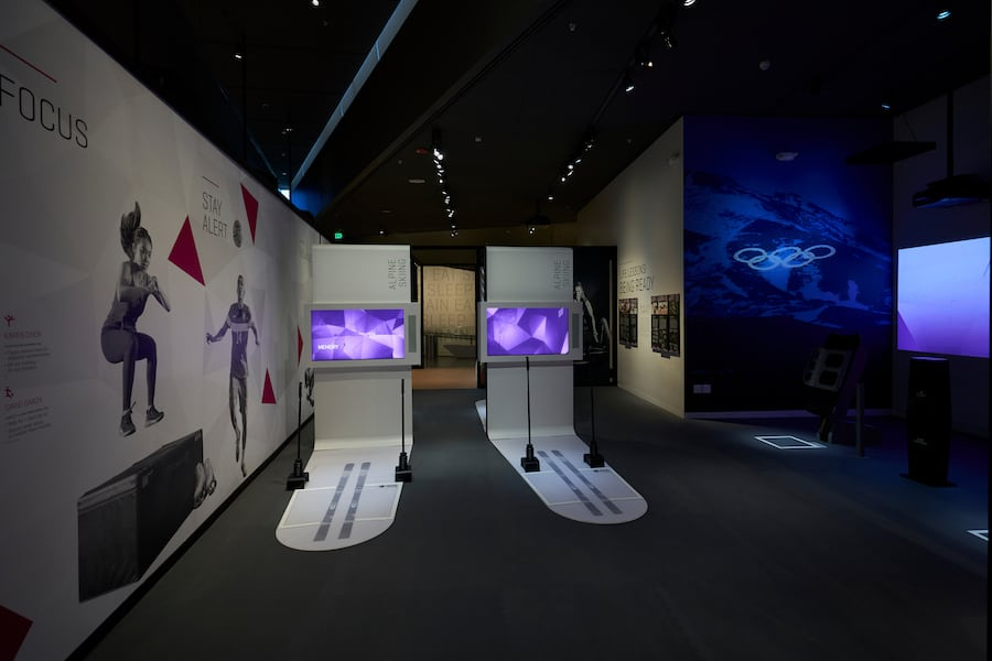 Interactives at US Olympic and Paralympic Museum