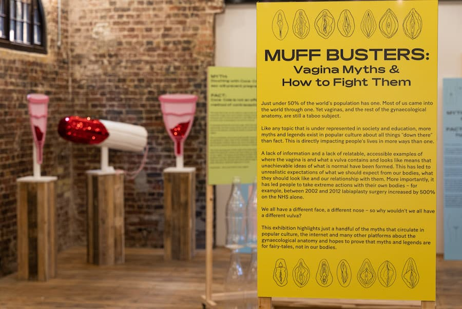 Muff Busters Vagina Museum