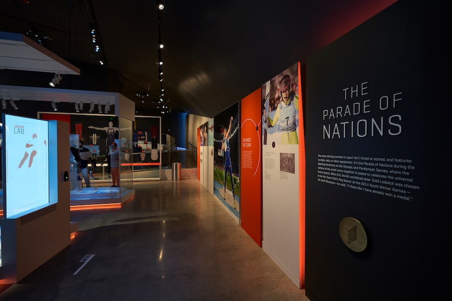 Parade of Nations Olympic Museum