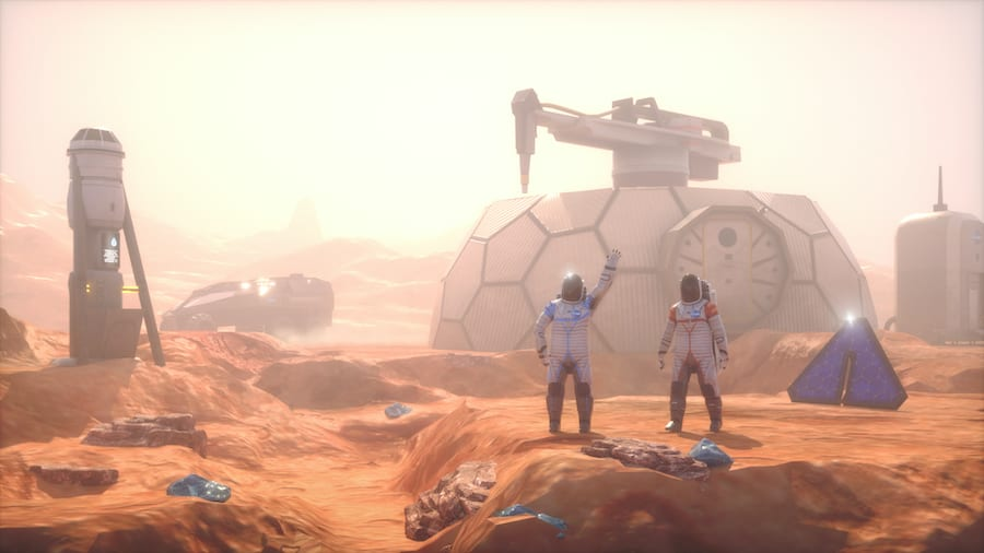 SPREE Interactive Mission to Mars