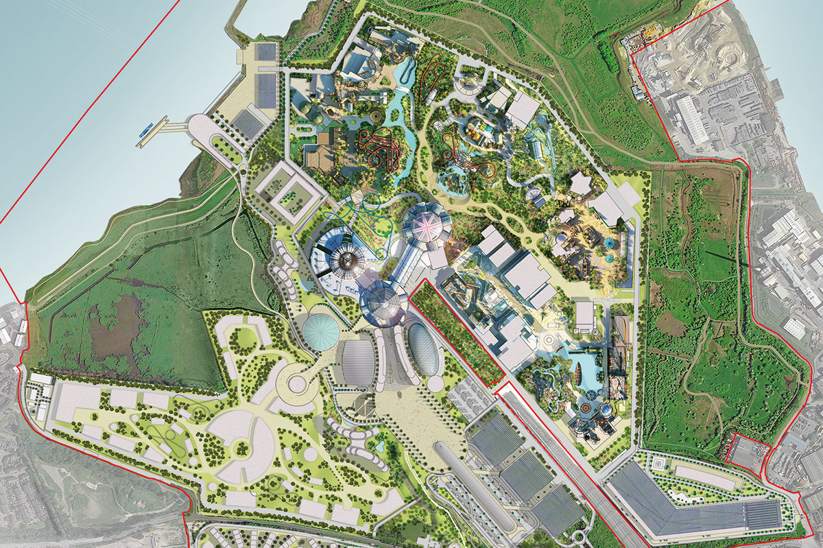 The London Resort detailed area masterplan