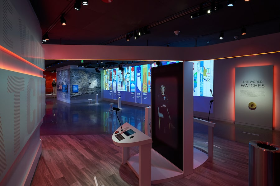 The World Watches exhibit