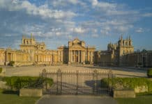 blenheim palace north gate
