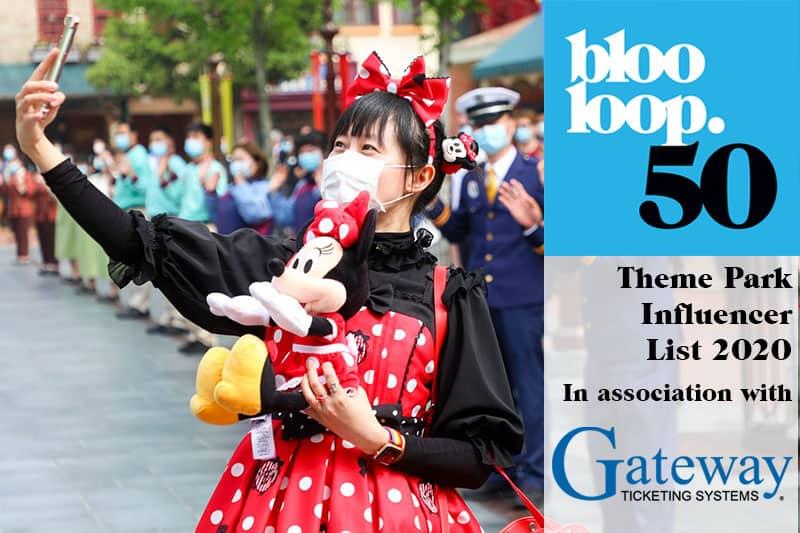 Blooloop50 Theme Park Influencer List 2020