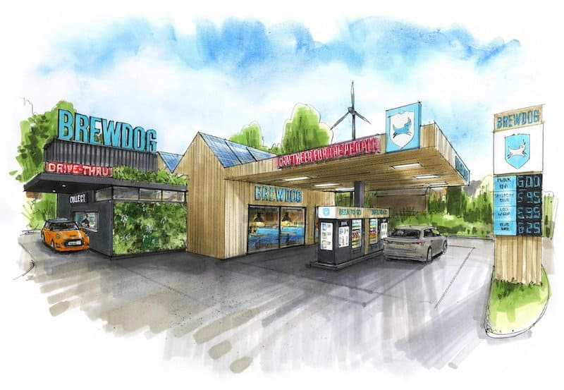 Brewdog Opening Sustainable Drive Through Locations Blooloop