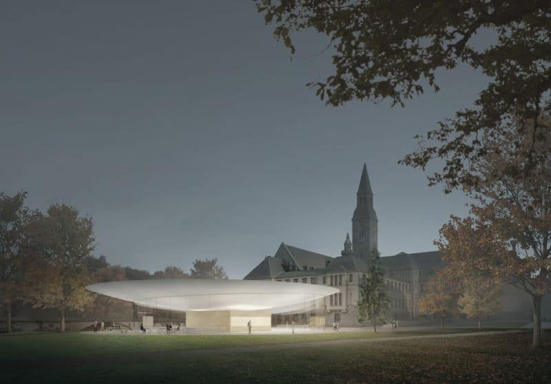 Rendering of expansion to National Museum of Finland