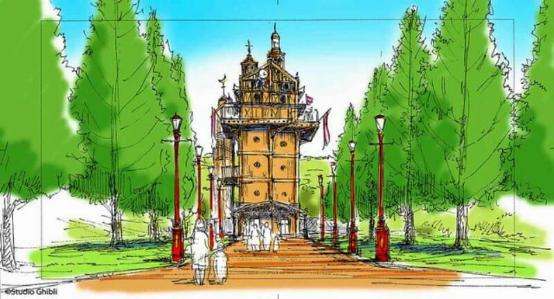 Studio Ghibli theme park