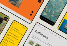 redesign of Van Gogh Museum website