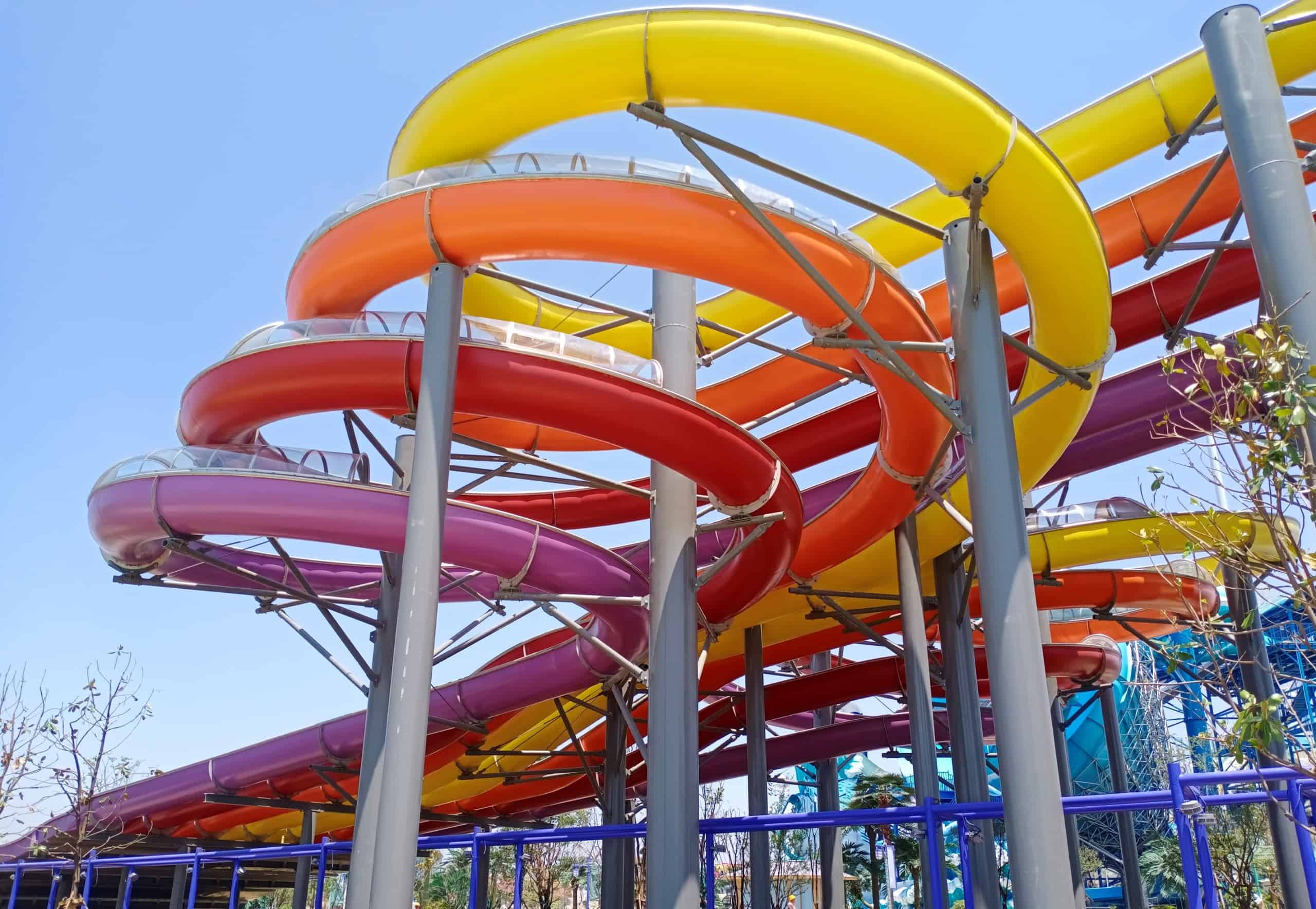 new 8 lane racer water ride from wiegand.waterrides
