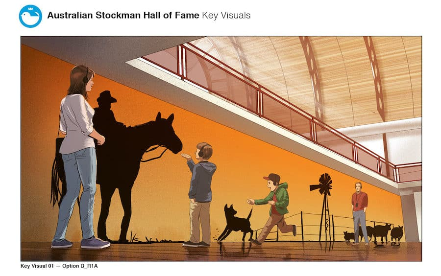 Art Processors Australian Stockman Hall of Fame