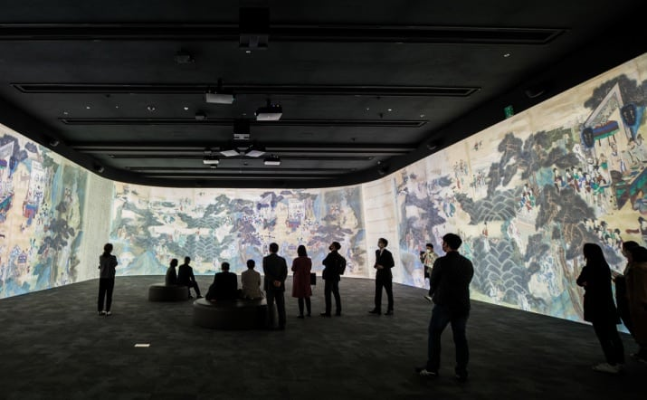 Christie immersive gallery