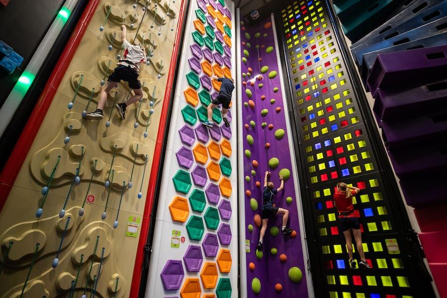 Clip 'n Climb walls
