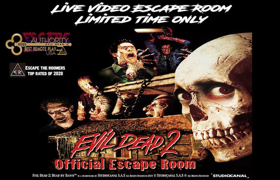 Evil Dead 2 escape room official