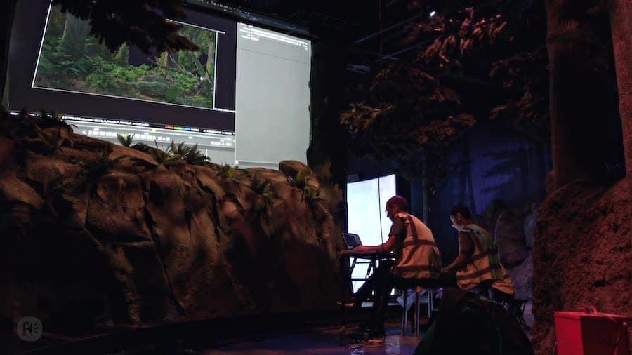 Lionsgate Entertainment World behind the scenes design