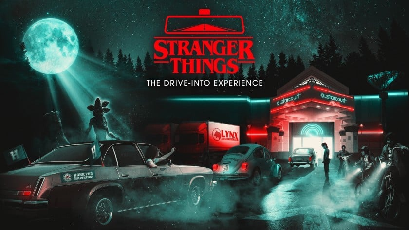 Stranger Things Drive Through halloween covid 19