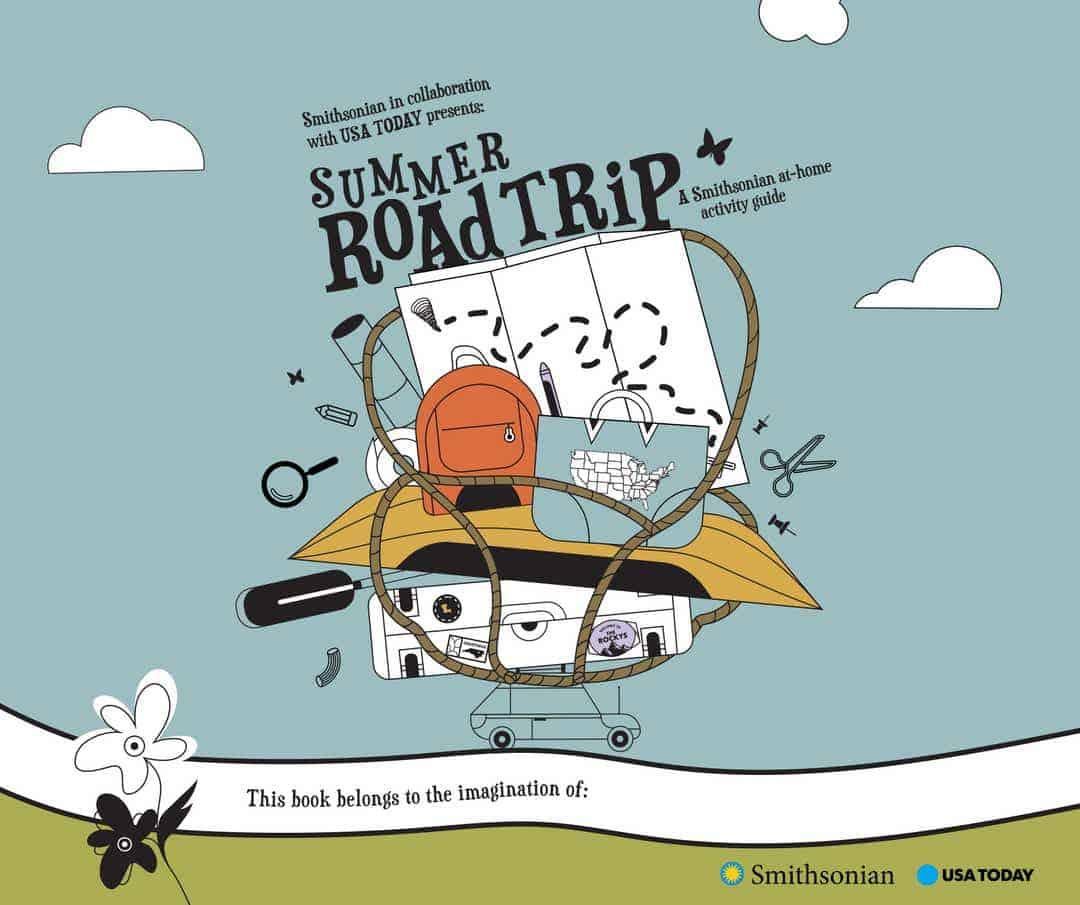 Smithsonian Summer Activity Book